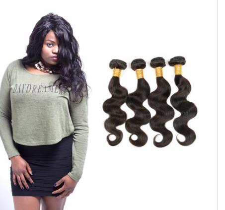 [8A]4 Bundles Malaysian Body Wave Hair Weave