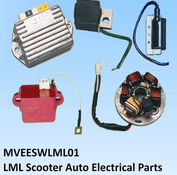 Scooter Auto Electrical Spare Parts