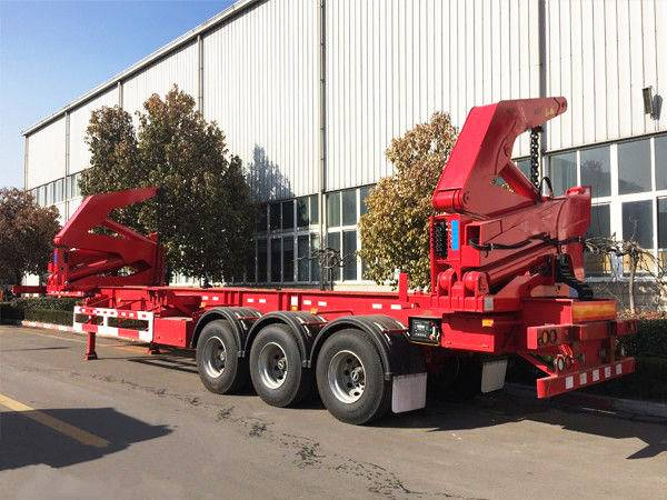 2016 new chinese export 20ft 40ft box side loader /3 axle 20ft container side loading trailer for sa
