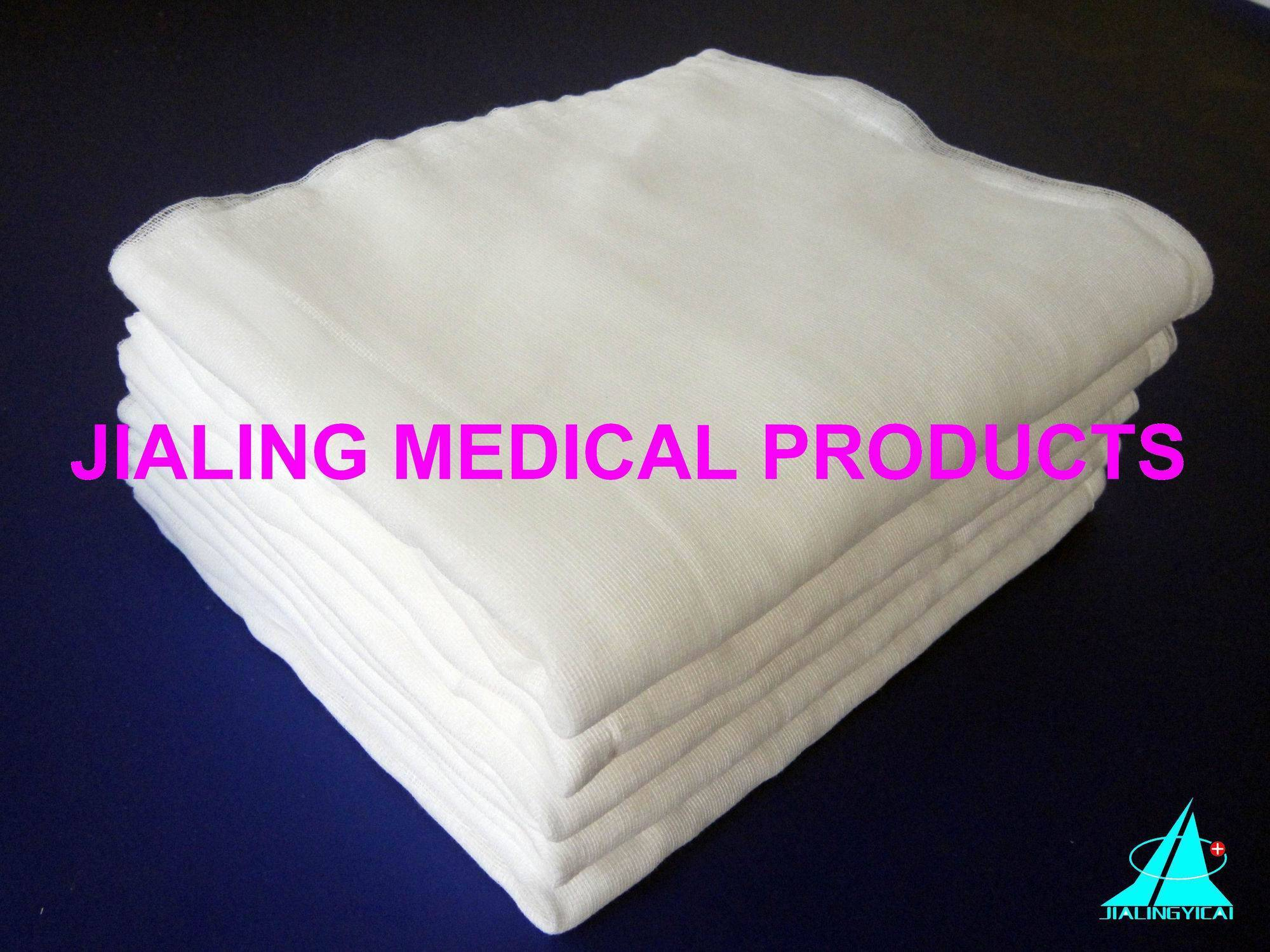 Cutting Absorbent Gauze (unfolded)