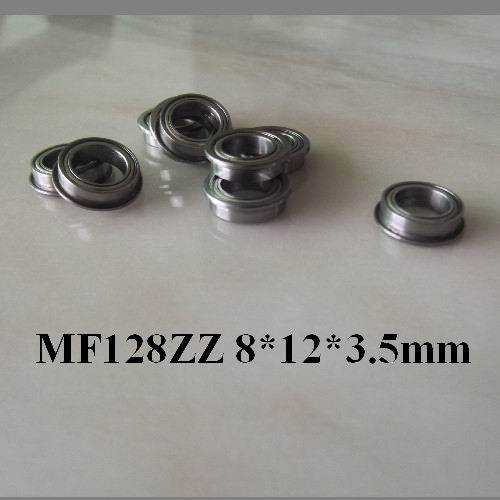 rc copter mf128zz flange mount bearing 8x12x3.5mm