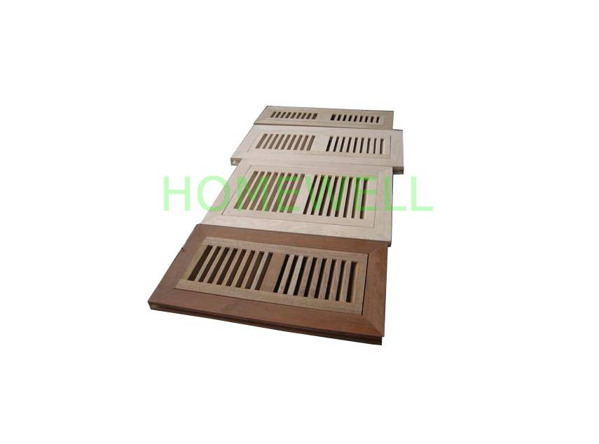wood floor register flush mount