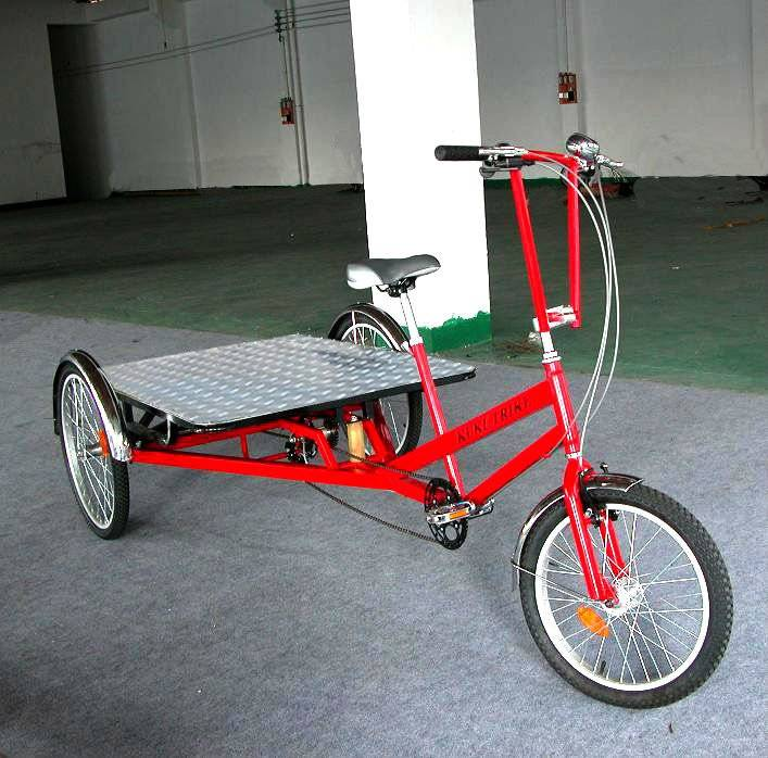 Pedal Flatbed trike