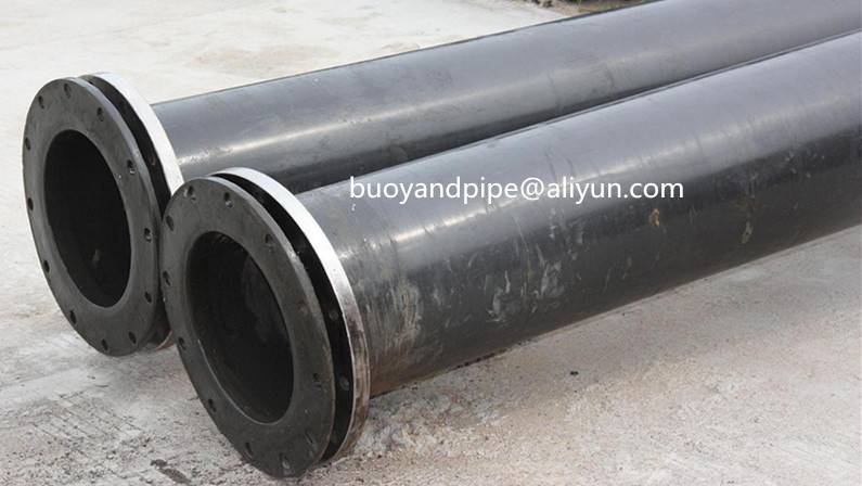 Wear resistance UHMWPE polyethylene pipe