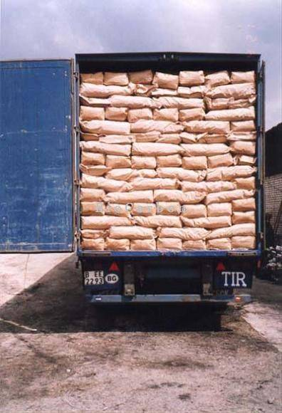 Shipment Charcoal by truck