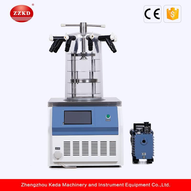 Top Grade LCD Display Freeze Dryer (Lyophilizer)