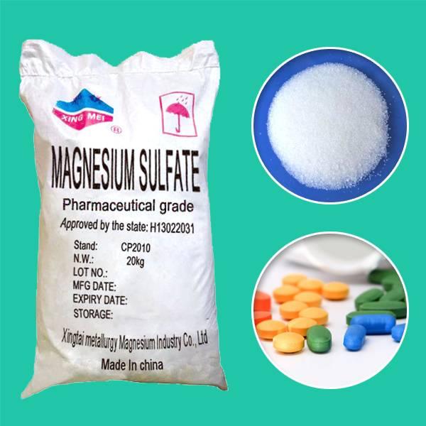 Pharma Grade Magnesium Sulphate