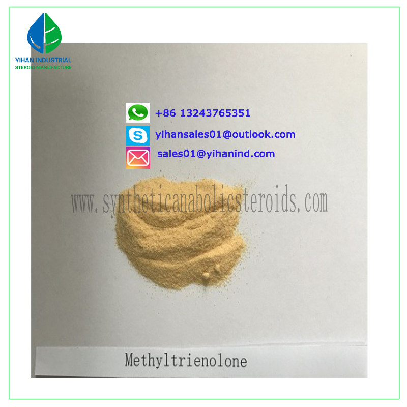 Bulking Cycle Methyltrienolone Metribolone Acetate Steroid Powder CAS 965-93-5 Judy