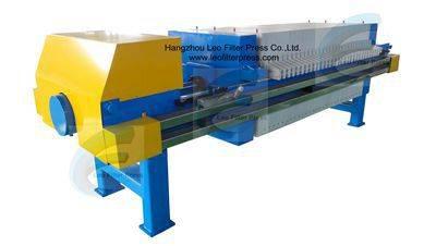 Leo Filter Press Industrial Chamber Plate Filter Press