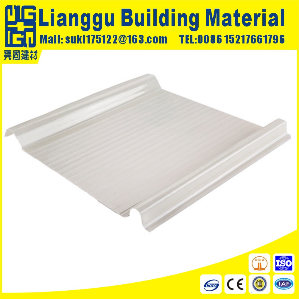 FRP fiber glass roof sheet for solar steel structure