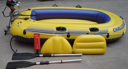 Gas inflatable boat (E-GB01, 4-stroke)