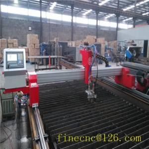 mini gantry cnc metal cutting machine