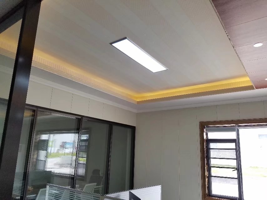 Condimea acoustic metal & PU ceiling with sound insullation of 29dB