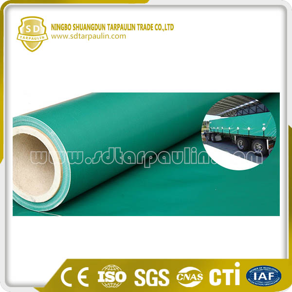 Durable High Tenacity Polyester PVC Coating Fabric Tarp