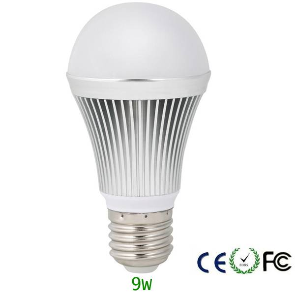 9W Energy saving bulbs LED dimmable E27 E26 B22 960lm
