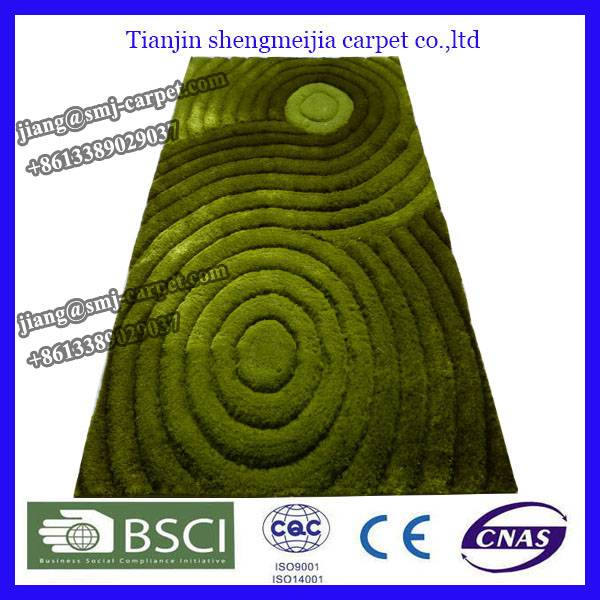 100% Polyester Material and Indoor Style floor carpet