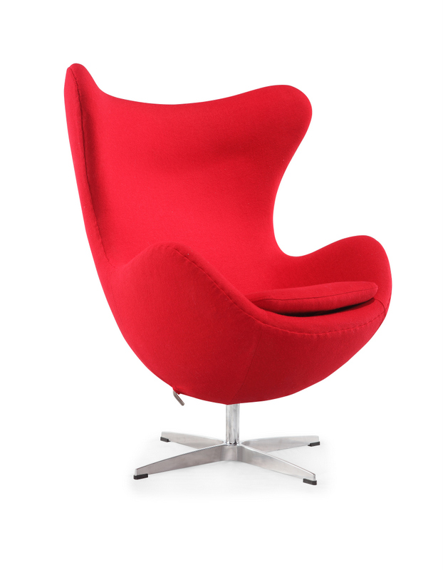 316 swiving arne jacobsen egg chair