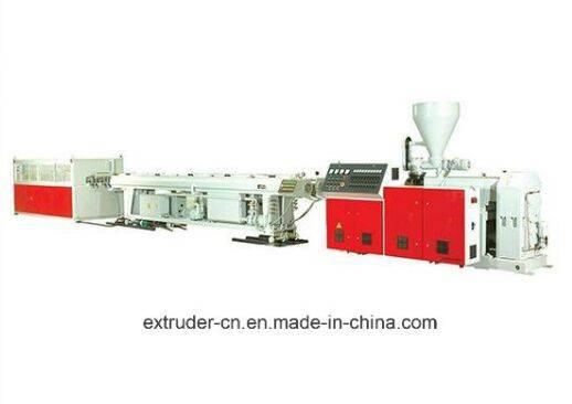 SJSZ 51/105 PVC/UPVC Pipe Extruder Machine
