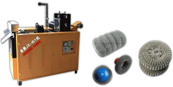 Metallic Knitting Scourer Making Machine