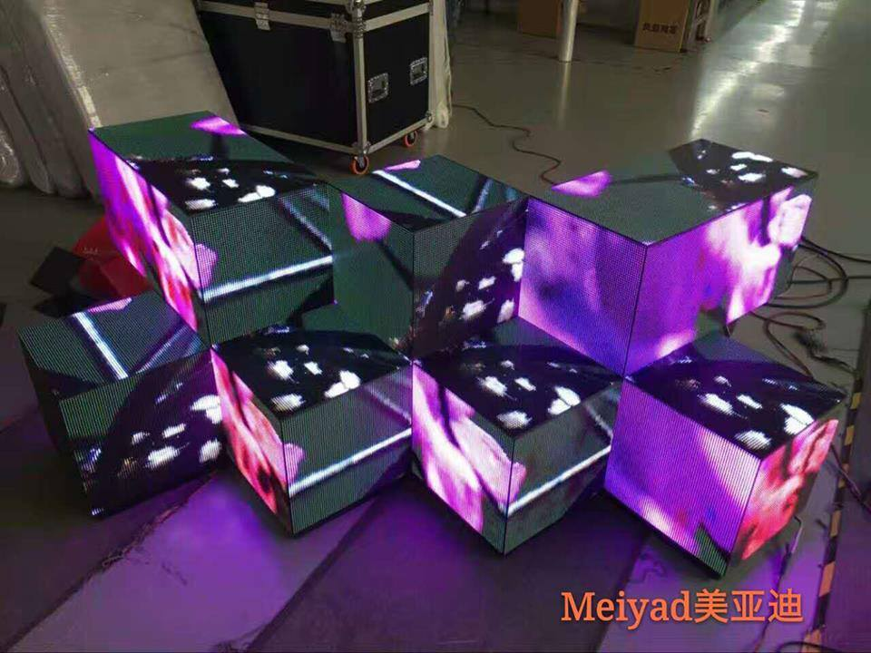Customized shape led screens with traditional indoor led module p3/p4/p5/p6/p8 any possibility