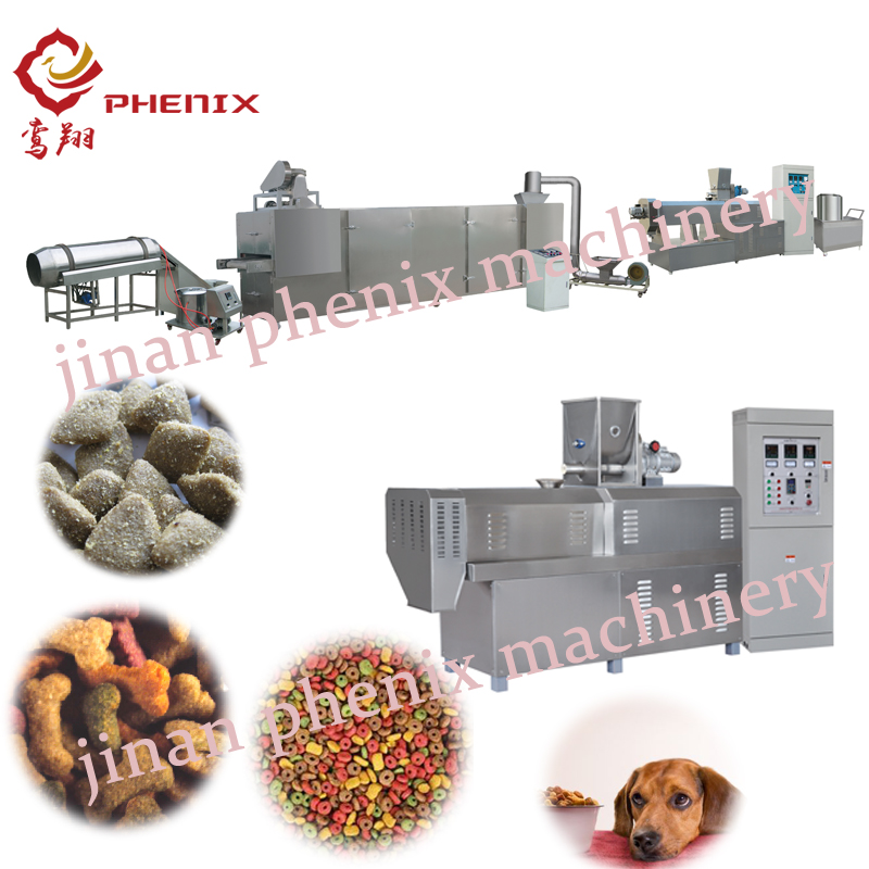 nutrition pet dog food twin screw extruder making machine
