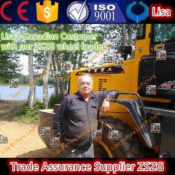 ZSZG BEST SELLER OF 936 WHEEL LOADER WITH CE