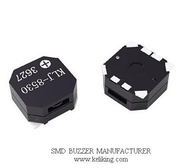 Surface Mounted Buzzer Alarm Speaker Audio Transducer beeper, KLJ-8530-3627