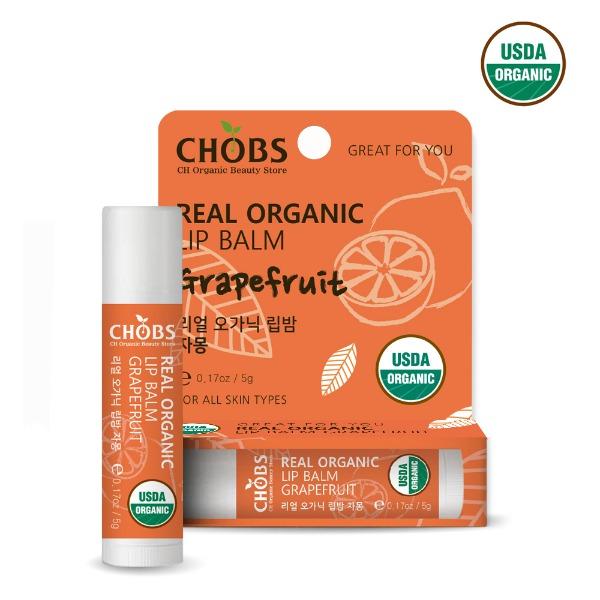 [USDA] CHOBS Organic Lip balm Grapefruit
