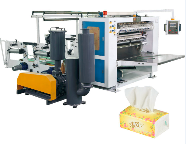 ZDJ-7L FACIAL TISSUE/HAND TOWEL FOLDING MACHINE