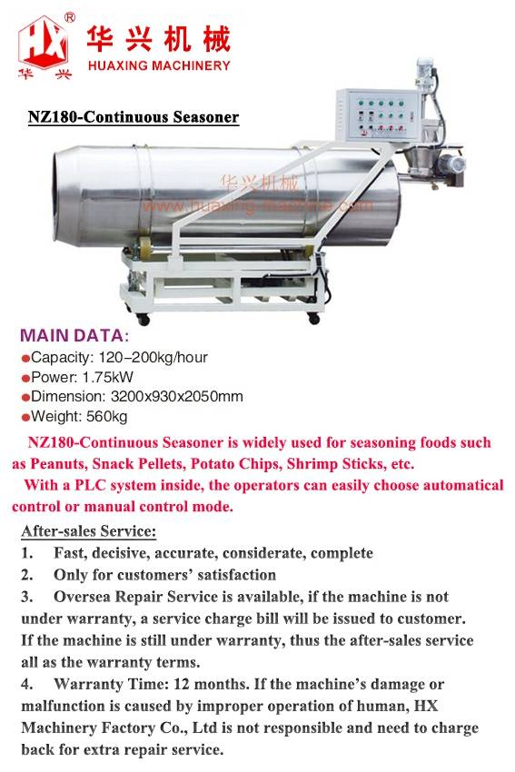 NZ180-Continuous Seasoner