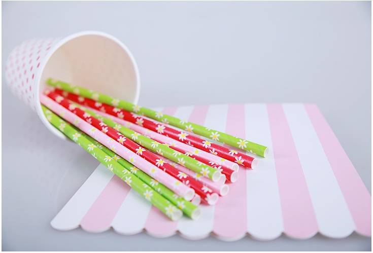 Colorful paper straws Wholesales