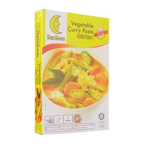 NEW MOON Vegetable Curry Paste