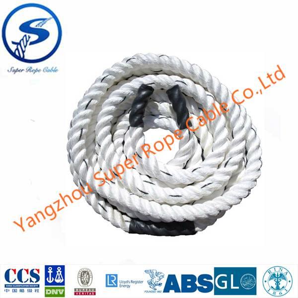 nylon rope ,PA yarn rope , PA multifilament rope, 3strands twisted nylon rope,marine nylon rope