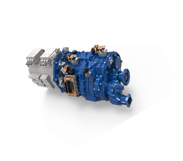 Rawsuns NEW 2x350kW 2x1800Nm dual electric motor ev conversion kit 2 gearbox for 90 ton above dump