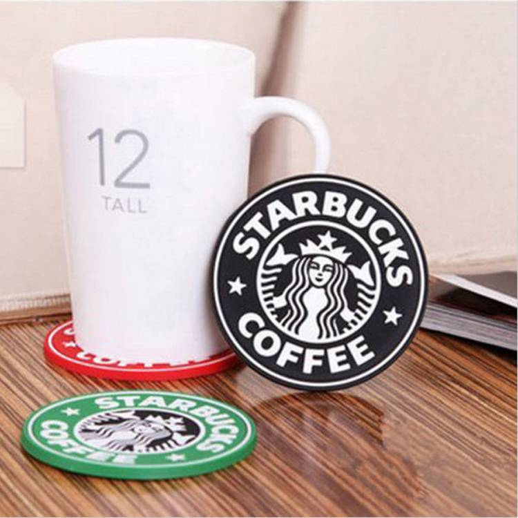 football club pvc cup mat customized