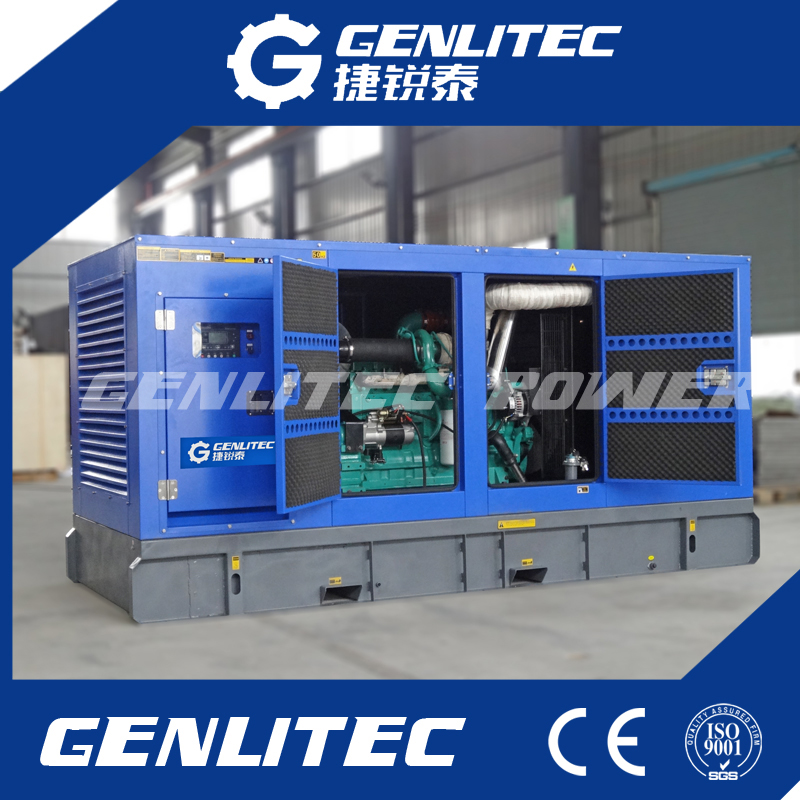 200kw silent diesel generator with cummins engine