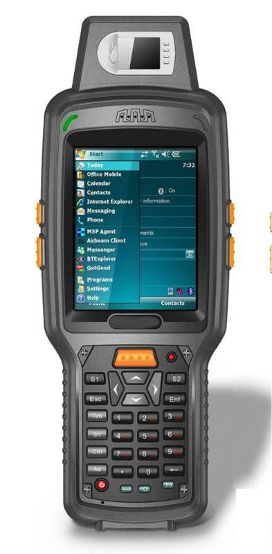 Rugged Fingerprint PDA with Barcode Scanner,RFID(X6)
