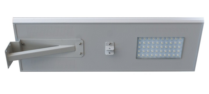 Solar Power Integrated Led Street Lamp 60w With Lithium Battery IP65