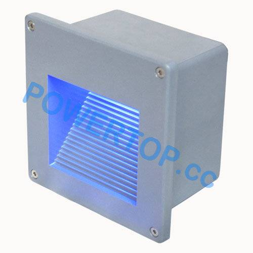 1.5W Recessed LED Wall Lamps