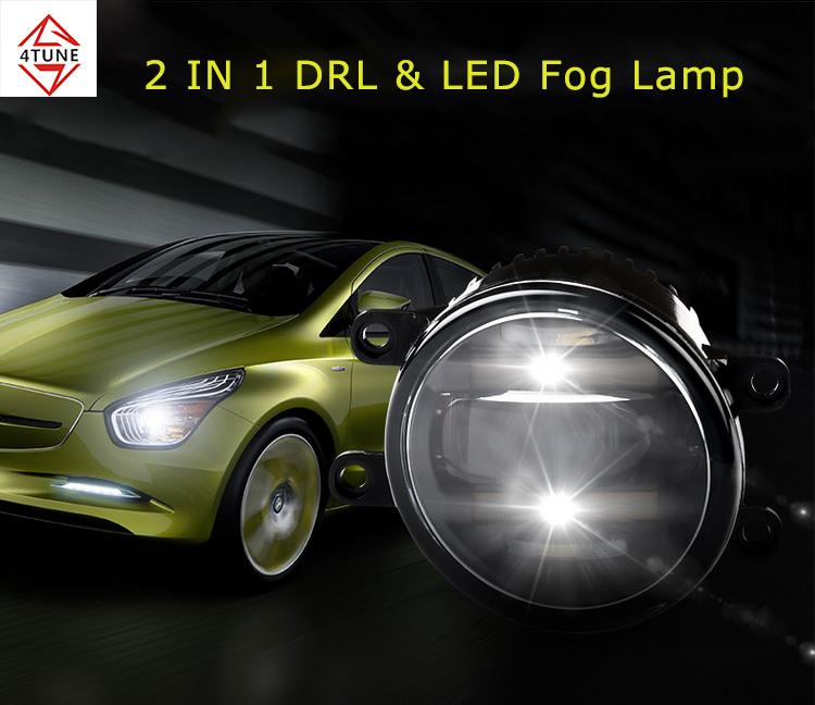 Fog Lamp for Toyota Prius 2013 led Fog Light DRL Daytime Running Light turn light
