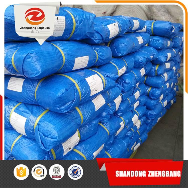 White/Blue PE Tarpaulin waterproof sheet China Factory