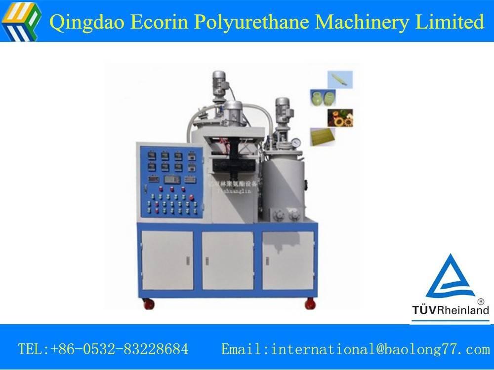polyurethane foam elastomer machine