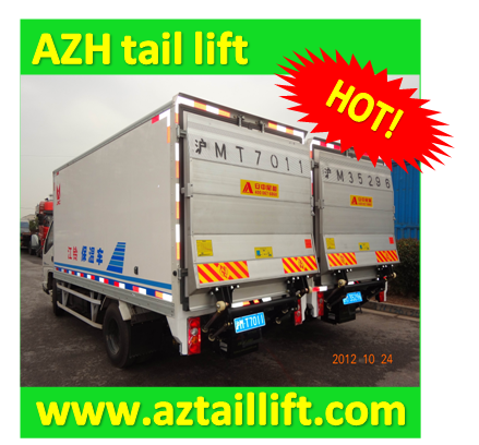 AZH 1000 kg tail lift for small truck
