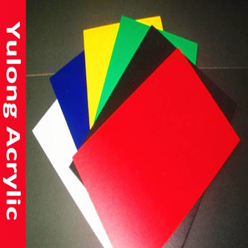 Popular 4x8 clear and color acrylic sheet