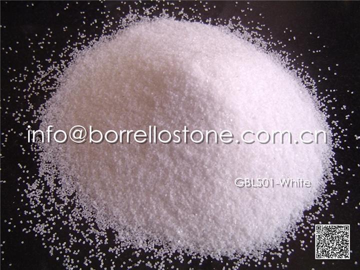 white marble sand
