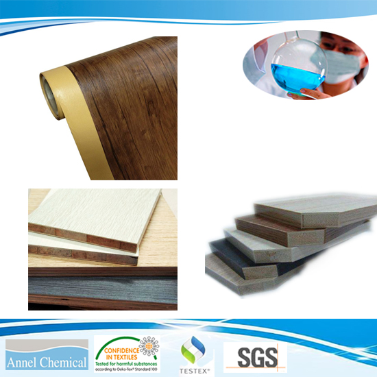 PUR Polyurethane Hot Melt Adheisve For Woodworking Wood-based panels to Veneer, CPL, PVC etc.