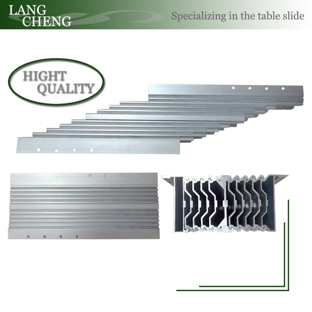 Aluminium Alloy Section folding Table Slide