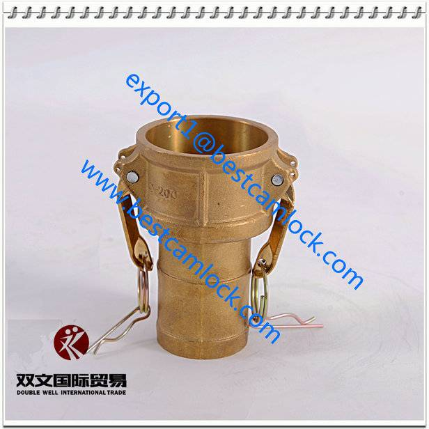 Brass Quick Connect Coupling Camlock GrooveCoupling Type C