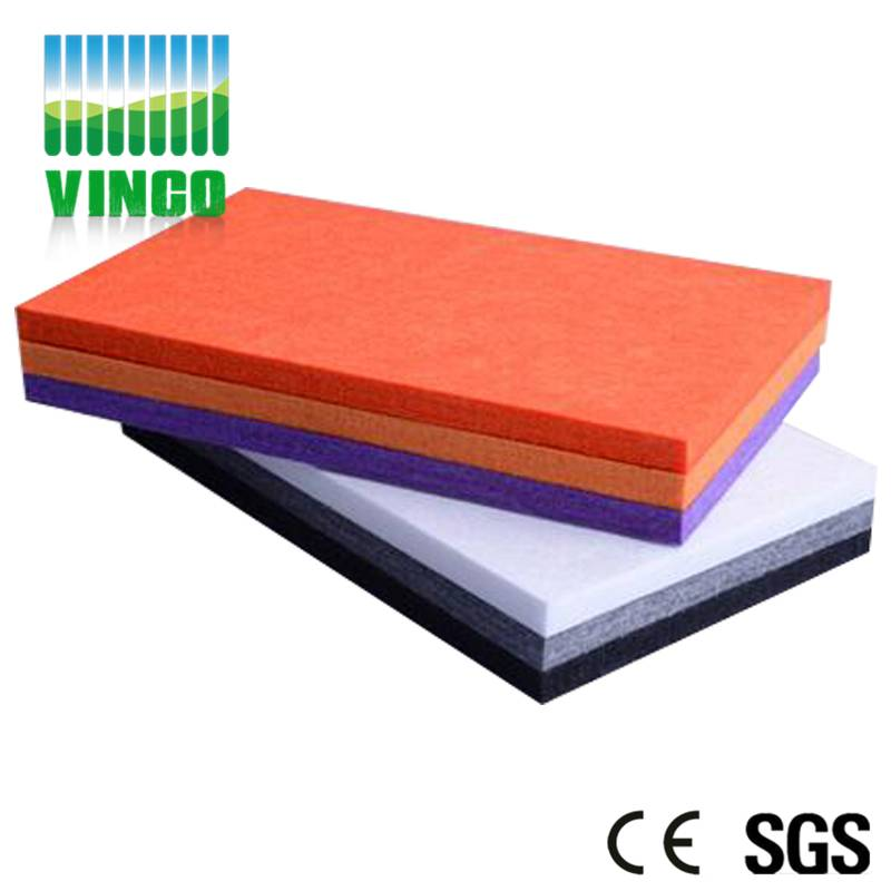 polyester fiber acoustic panel soundproofing mmaterials