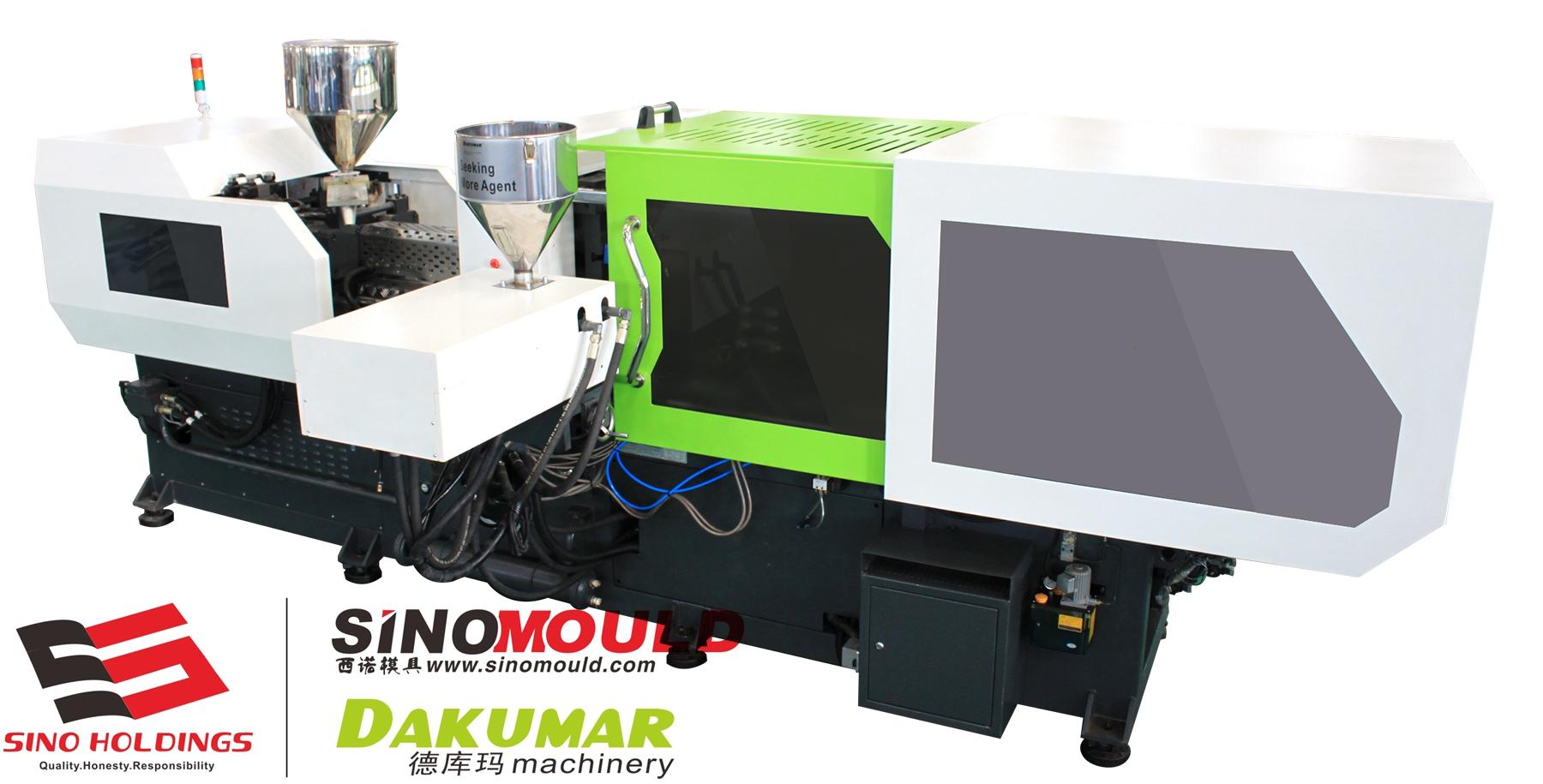 Bi-color Double Color Injection Molding Machine 260tons